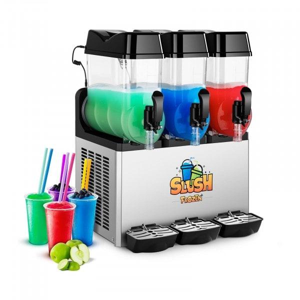 Slush-Maschine - 3 x 12 Liter - LED