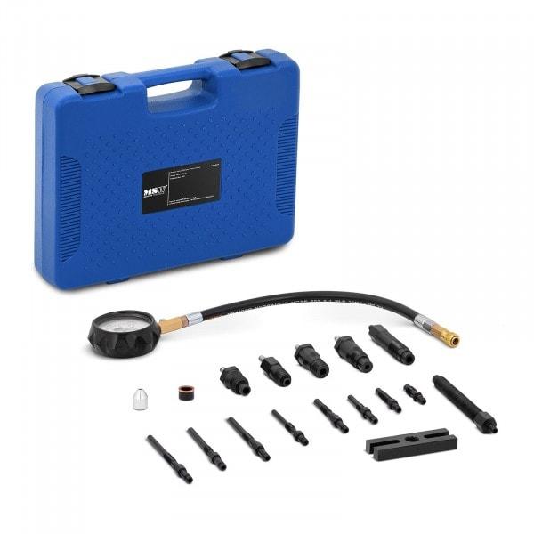 B-Ware Kompressionsprüfer Diesel - 0-70 bar - 80 mm Manometer - 35 cm Schlauch