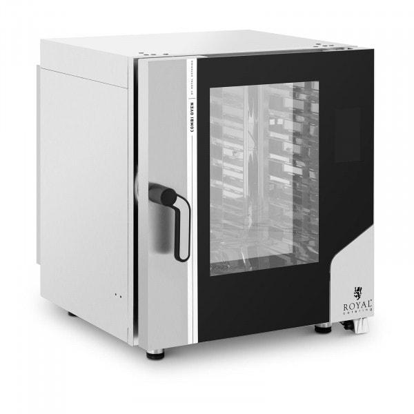 Digitaler Heißluftofen - 10.400 W - Dampffunktion - 7 Einschübe GN 1/1