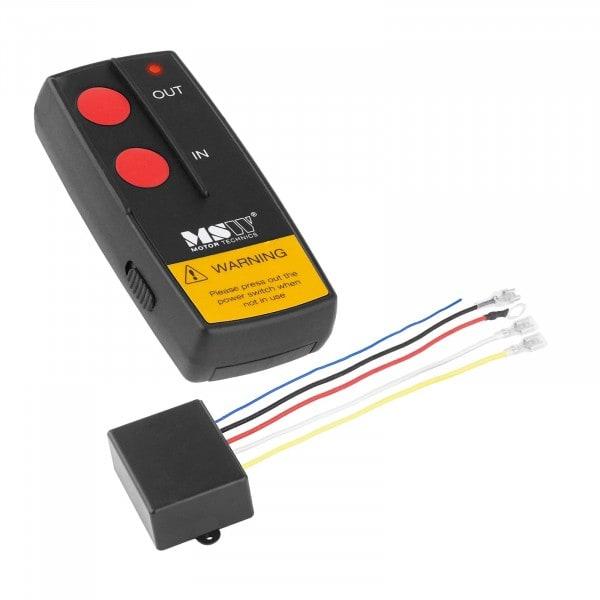 Telecomando per verricello elettrico - MSW-WR4 - 12 V - raggio d'azione di 30 m