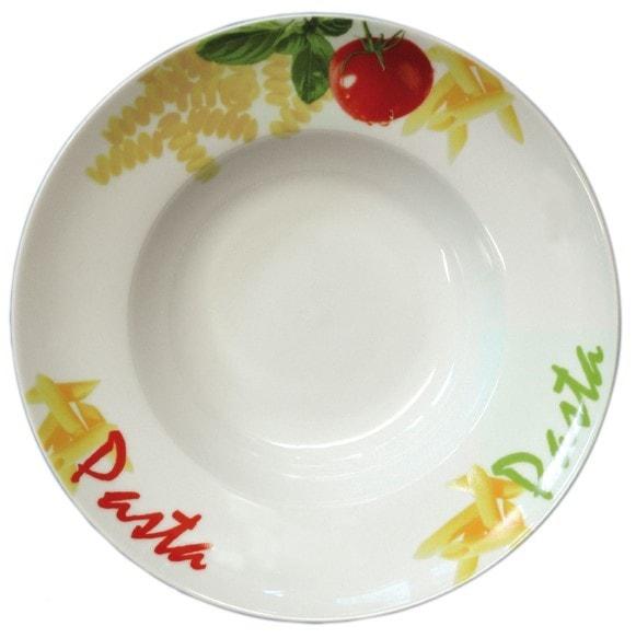 Pasta-/Salatteller Ø 270 mm - aus robustem Porzellan