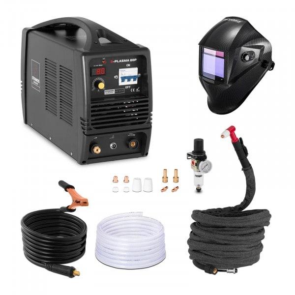 Hitsaussetti Plasmaleikkuri - 80 A - 400 V + Hitsausmaski – Carbonic – PROFESSIONAL SERIES