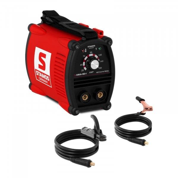 Elektroden-Schweißgerät - 160 A - 230 V - IGBT - 80 % ED