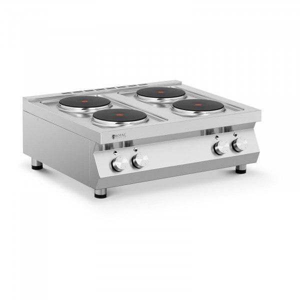 Elektroherd Gastro - 10.400 W - 4 Platten