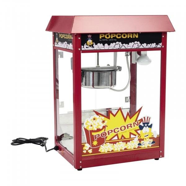 B-varer Popcornmaskin - 120 s tilberedning - rødt tak