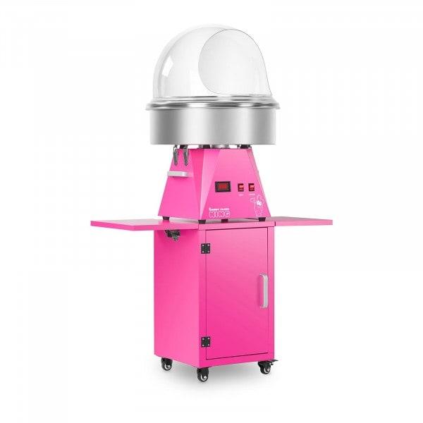 Hattarakonesetti vaunulla ja suojakuvulla - 52 cm - vaaleanpunainen/vaaleanpunainen