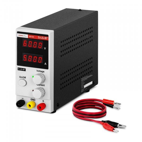 Laboratory Power Supply - 0-60 V - 0-5 A DC - 300 W