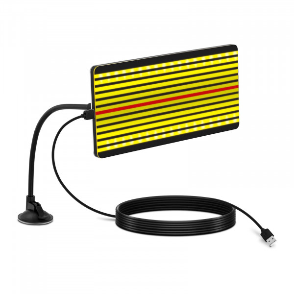 Dellenlampe LED - 32 x 15 cm - Flexarm