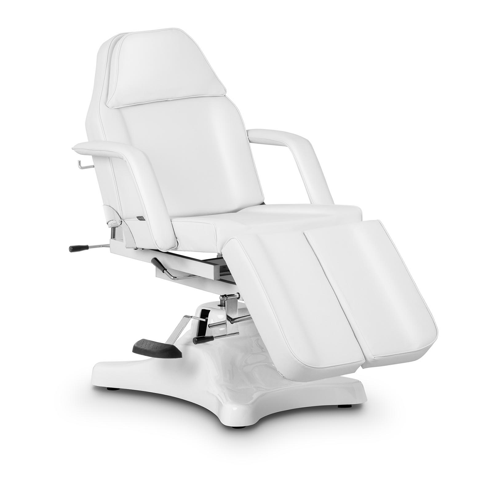 Biały fotel kosmetyczny do pedicure Rosario