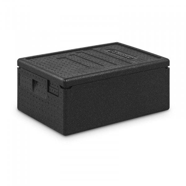 Caja térmica para alimentos - contenedor GN 1/1 (15 cm de profundidad)
