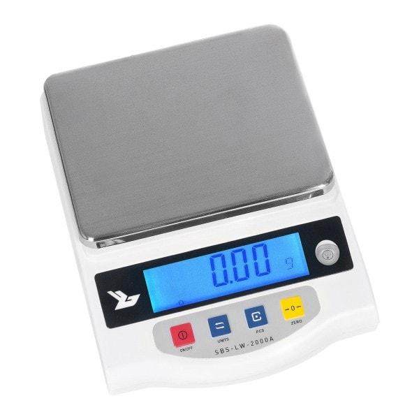 B-termék Precíziós mérleg 2000 g / 0,01 g - LCD