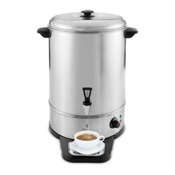 Wasserkocher - 30 L - 2.500 W - Abtropfschale