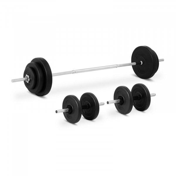 Hantelset - 49 kg
