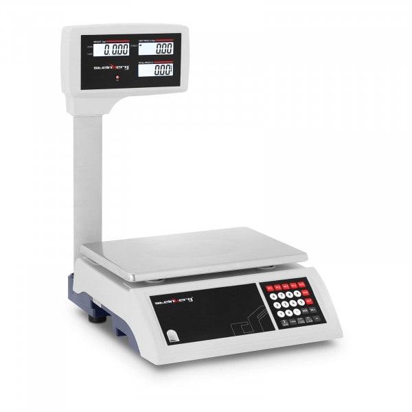 Artigos usados Balança de controlo - 30 kg / 5 g - LCD