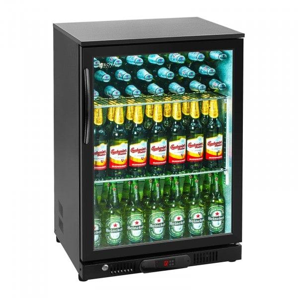 Hladilnik za pijačo - 138 L - praškasto premazano jeklo (črn)