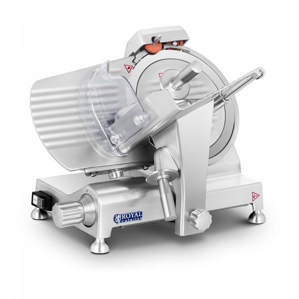 Meat Slicer - 250 mm - up to 12 mm - aluminium handles