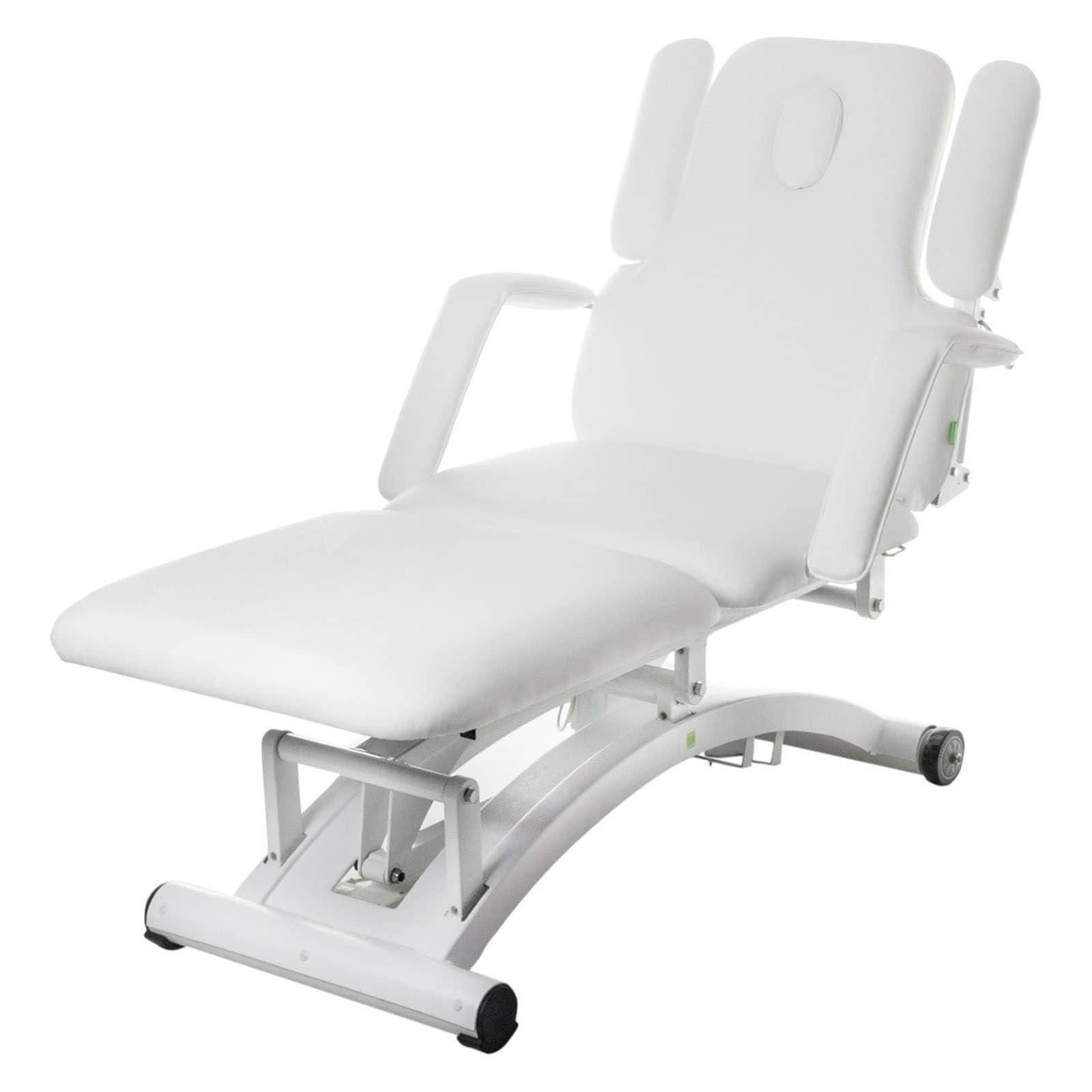 Elektryczne łóżko do masażu Physa Divine białe