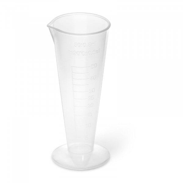 Messbecher - 10 Stück - 50 ml - mit Ausgießer