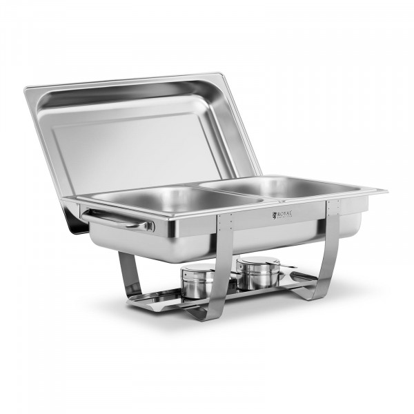 Occasion Chafing dish -2 x GN 1/2 - 11 l - 2 brûleurs à pâte inclus