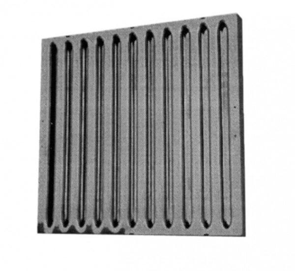 Flammschutzfilter 500x400x25mm - aus Edelstahl