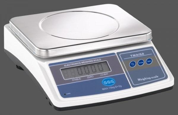 Küchenwaage - 345x280x135mm - Wiegefläche