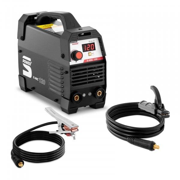 Elektróda hegesztőgép - 120 A - Hot Start - fogantyú