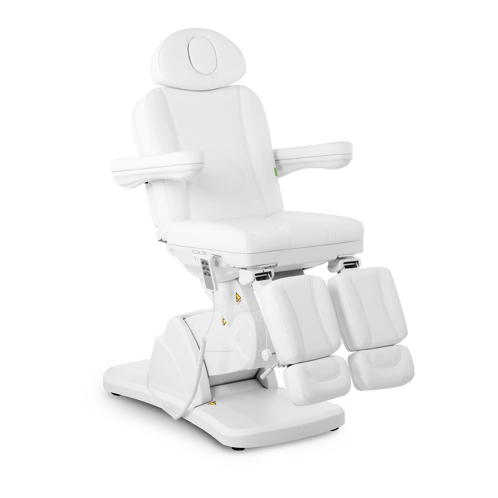 Biały fotel kosmetyczny do pedicure La Paz