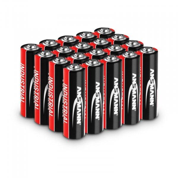 Ansmann INDUSTRIAL Alkaline-Batterien - 20 x Mignon AA LR6 1,5 V