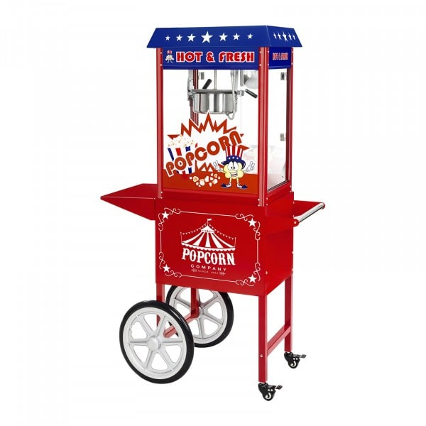 Factory seconds Popcorn maker - Trolley included - American design