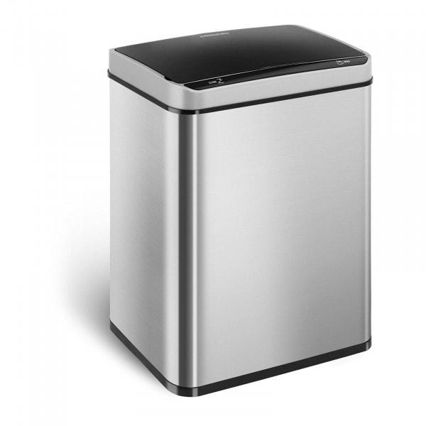 Bezdotykový odpadkový koš - 50 l - hranatý