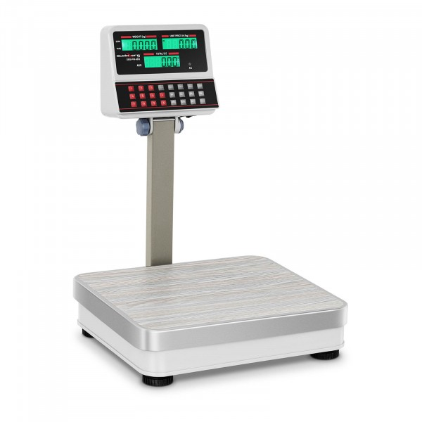 Factory seconds Digital Weighing Scale with Raised LCD Display - 100 kg / 10 g