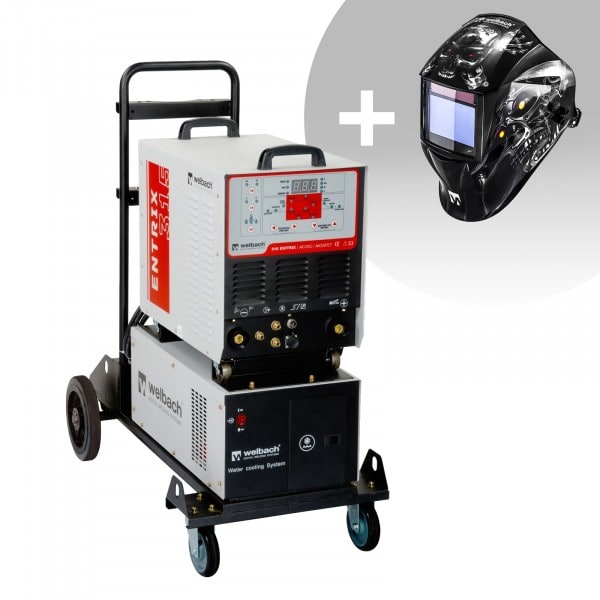 Welding Set Aluminuim Welder - 315 A - 400 V - Pulse - Water Cooler + Welding helmet – Metalator - EXPERT SERIES