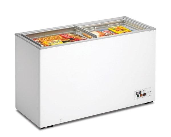 Tiefkühltruhe - mit Glasschiebedeckel - 1410x600x820mm