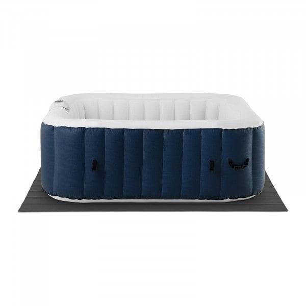 B-varer Oppblåsbar badestamp - 900 liter - 4 personer - 130 dyser - blå/hvit