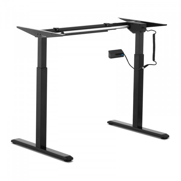 Höhenverstellbares Schreibtischgestell - 200 W - 80 kg - schwarz