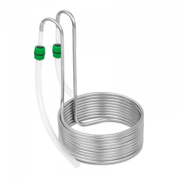 Kühlspirale - Ø 26 cm - 10 Schleifen - Edelstahl