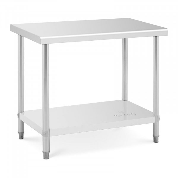 Stainless Steel Table- 100 x 60 cm - 90 kg capacity