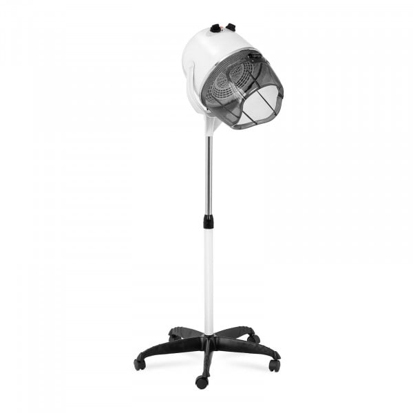 Standing Hair Dryer - with stand - 1,100 W - white