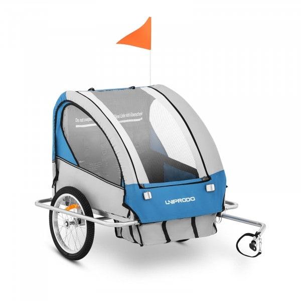 Artigos usados Reboque de bicicleta para crianças - até 40 kg - amortecedores