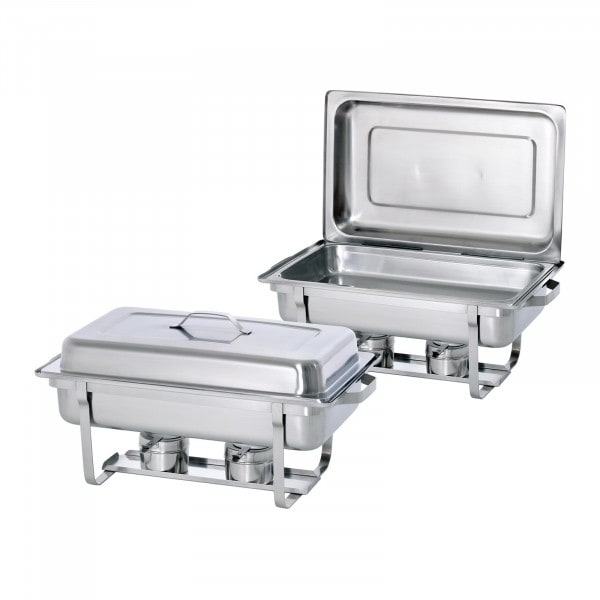 Bartscher Chafing Dish - 1/1 GN - Twin Pack Set