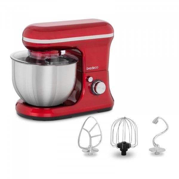 Kjøkkenmaskin 1,200 W - 5 L rød
