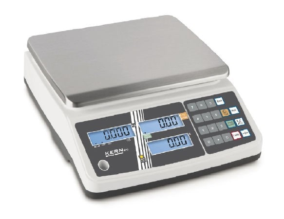KERN Price computing balance Max 3 kg / 1g | 6 kg / 2 g