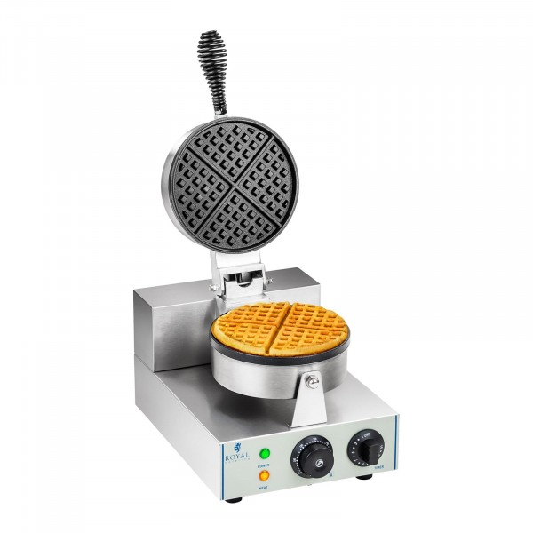 Waffle Maker - 1300 Watts - Round