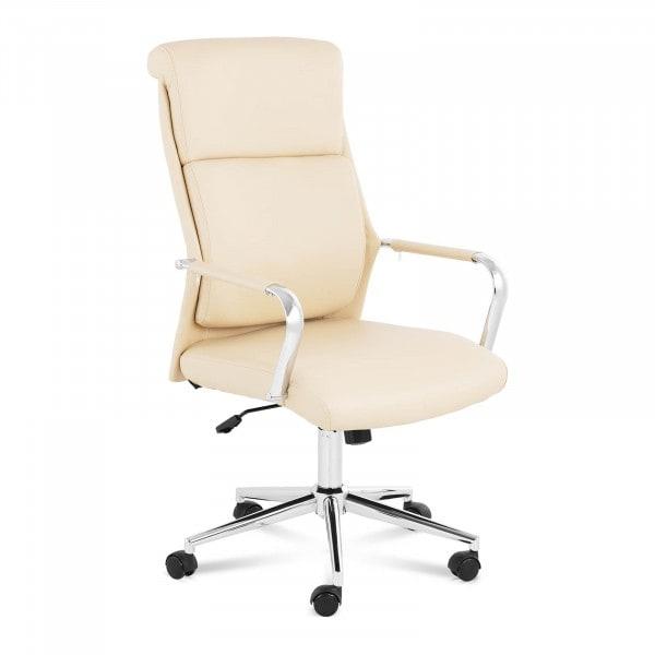 Artigos usados Cadeira de escritório - giratória - marrom claro