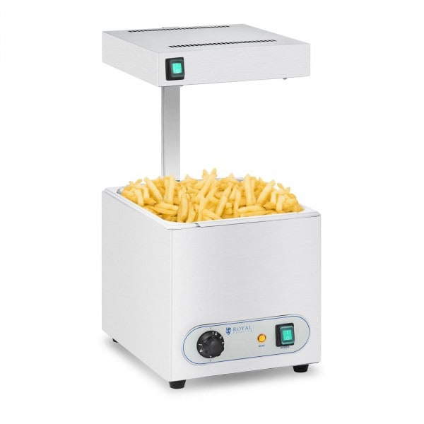 Tweedehands Frietverwarmer met warmtebrug- 850 W