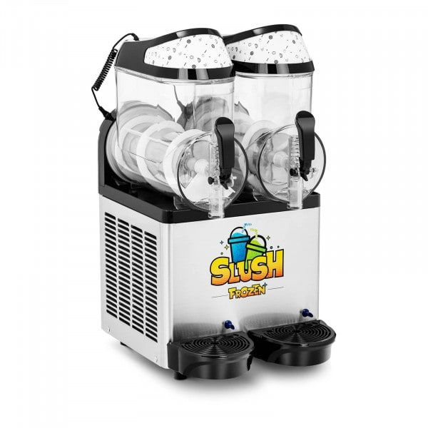 Slush-Maschine - 2 x 10 l - LED