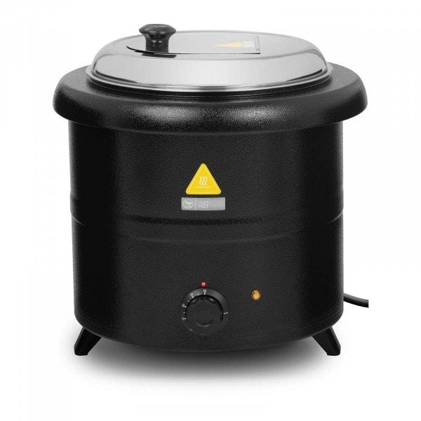 Soepketel - 13 L - 600 W - zwart