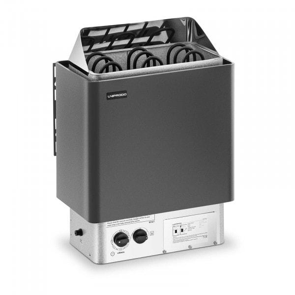 Saunaofen - 4,5 kW - 30 bis 110 °C - inkl. Steuerung