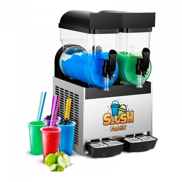 Brugt Slush ice-maskine - 2 x 15 liter - LED