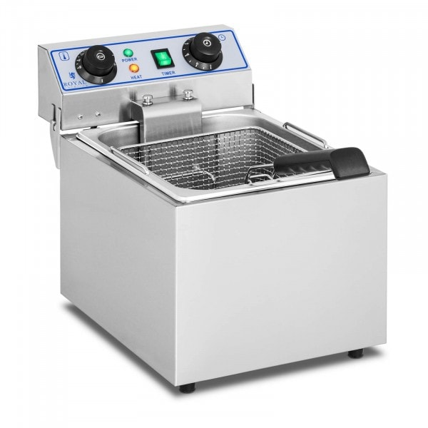 Electric Deep Fryer - 1 x 13 litres with timer function (60 minutes)